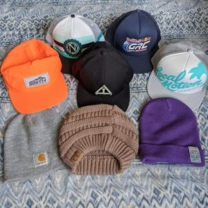 Make Your Own Hat Bundle • Beanies and Snapbacks